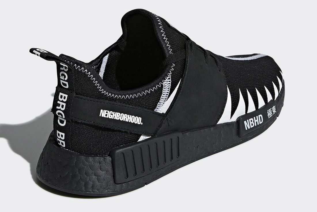 Neighborhood Adidas Nmd Black Boost 1
