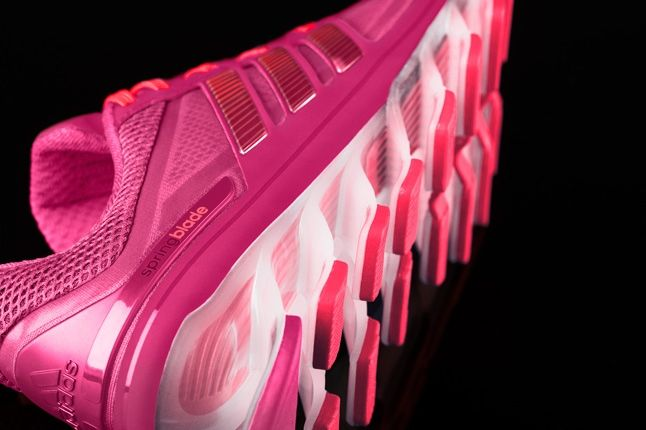 Adidas Springblade Pink Heel Sole Detail 1