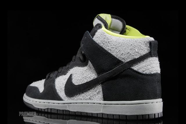 Nike Sb Dunk High Wooly Venom 4