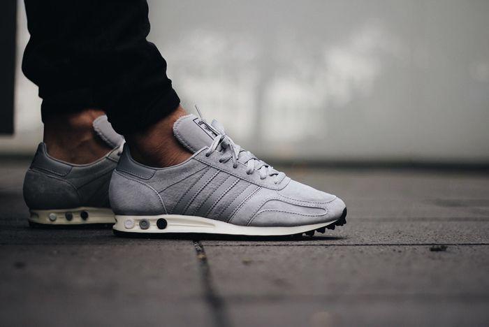 Adidas La Trainer Og Solid Grey2