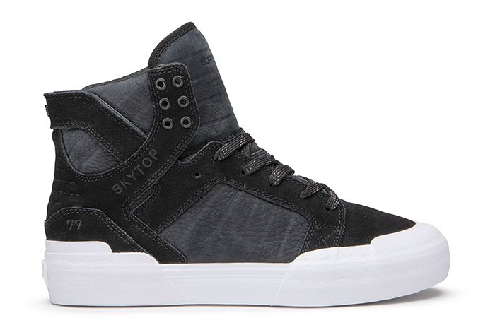 Slam City Supra Skytop 77 Black Release Date Lateral