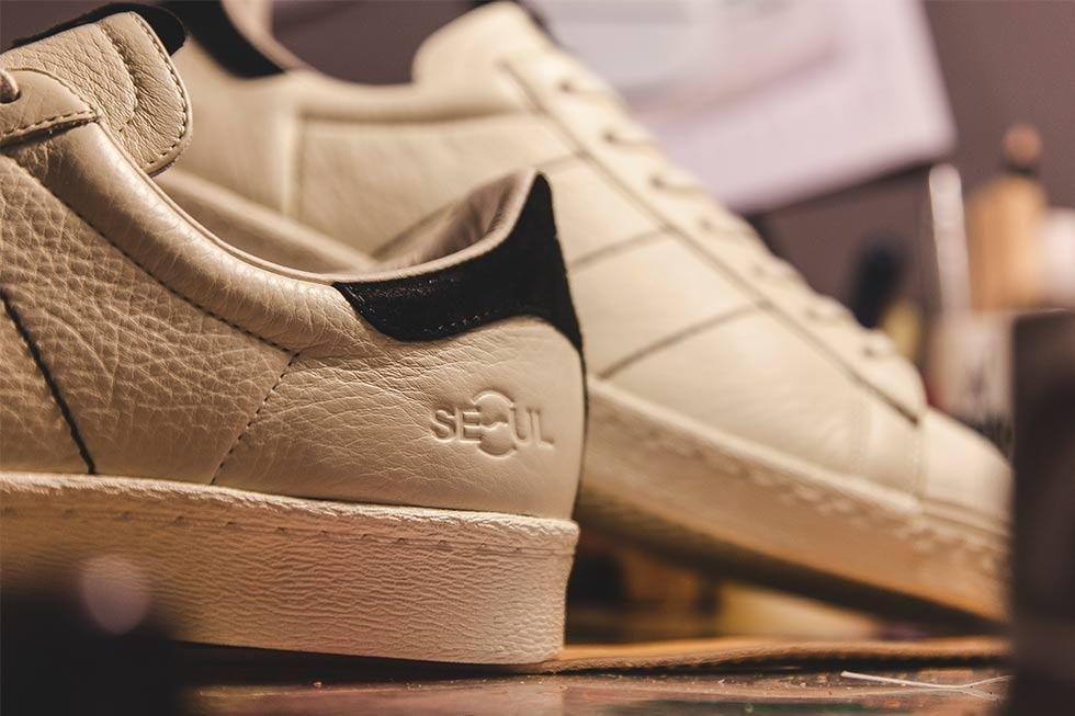 Kasina X Adidas Superstar 6