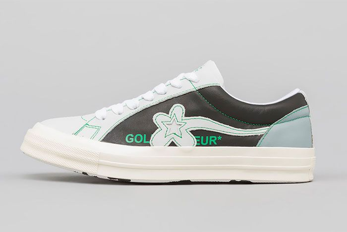 Golf Le Fleur Converse Industrial Pack Green Left