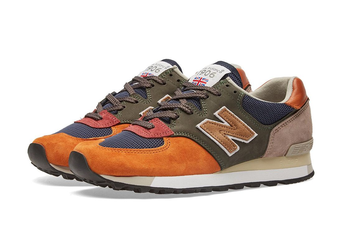 New Balance Made In England Surplus Pack Green Navy 575 3