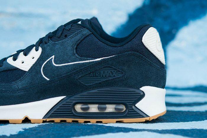 Nike Air Max 90 Premium (Armoury Navy) Sneaker Freaker