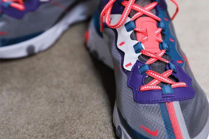 Nike React Element 87 Red Orbit Cj6897 061 Release Date Upper Hero