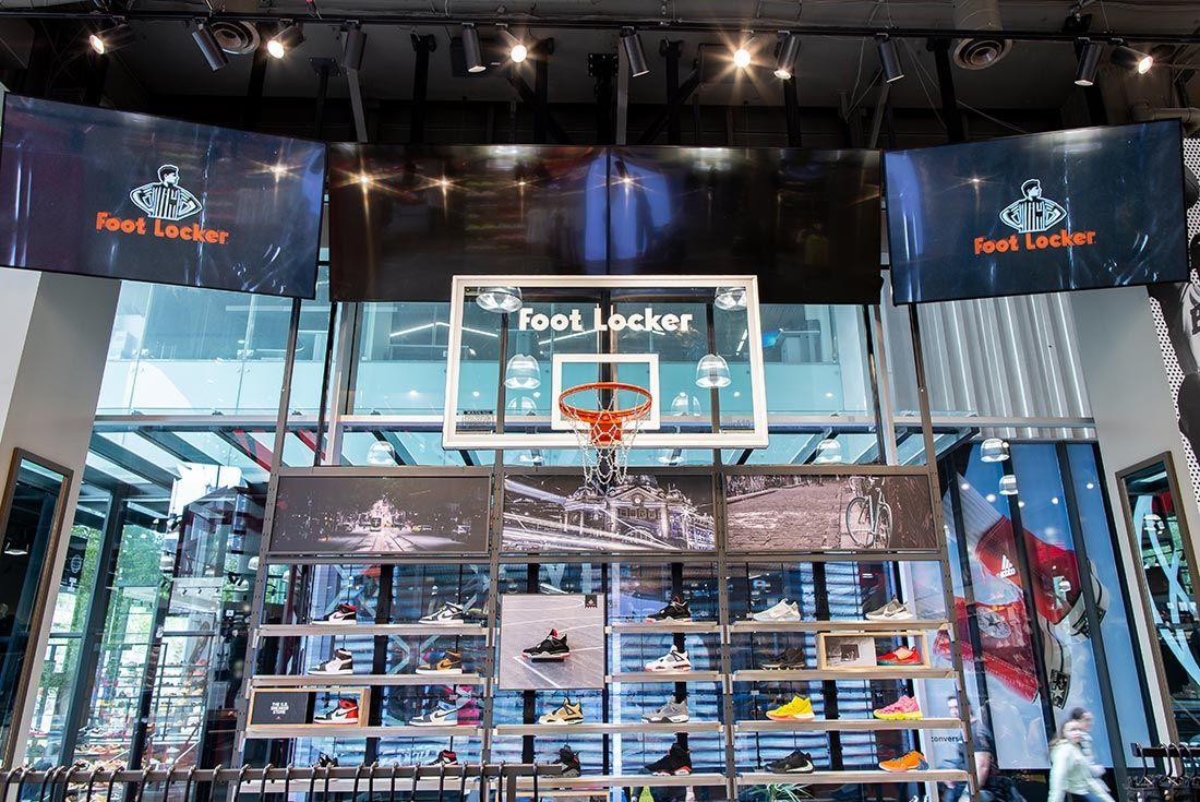 Foot Locker Qv Opening Basketball Hoop