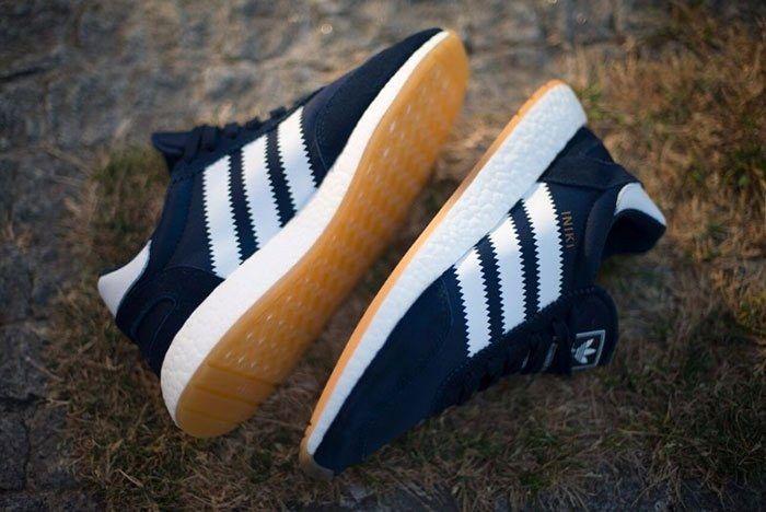 Adidas Iniki Runner Navy Blue Gum 1