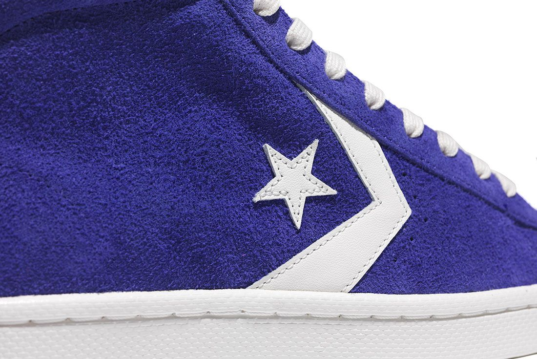 Converse Pro Leather 76 Vintage Suede Pack 9