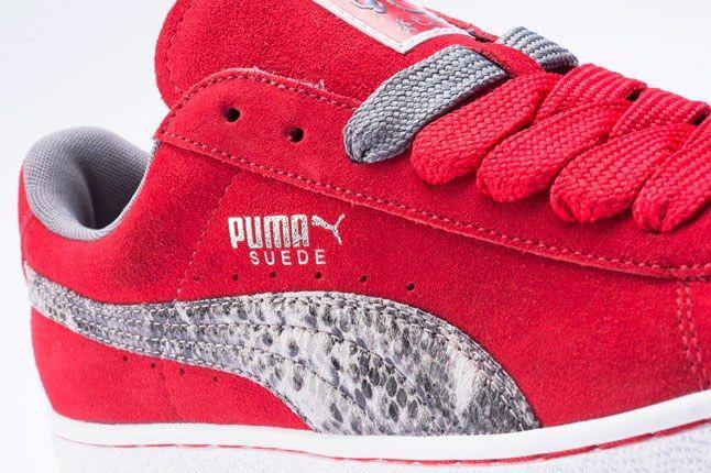 Puma Red Suede 1
