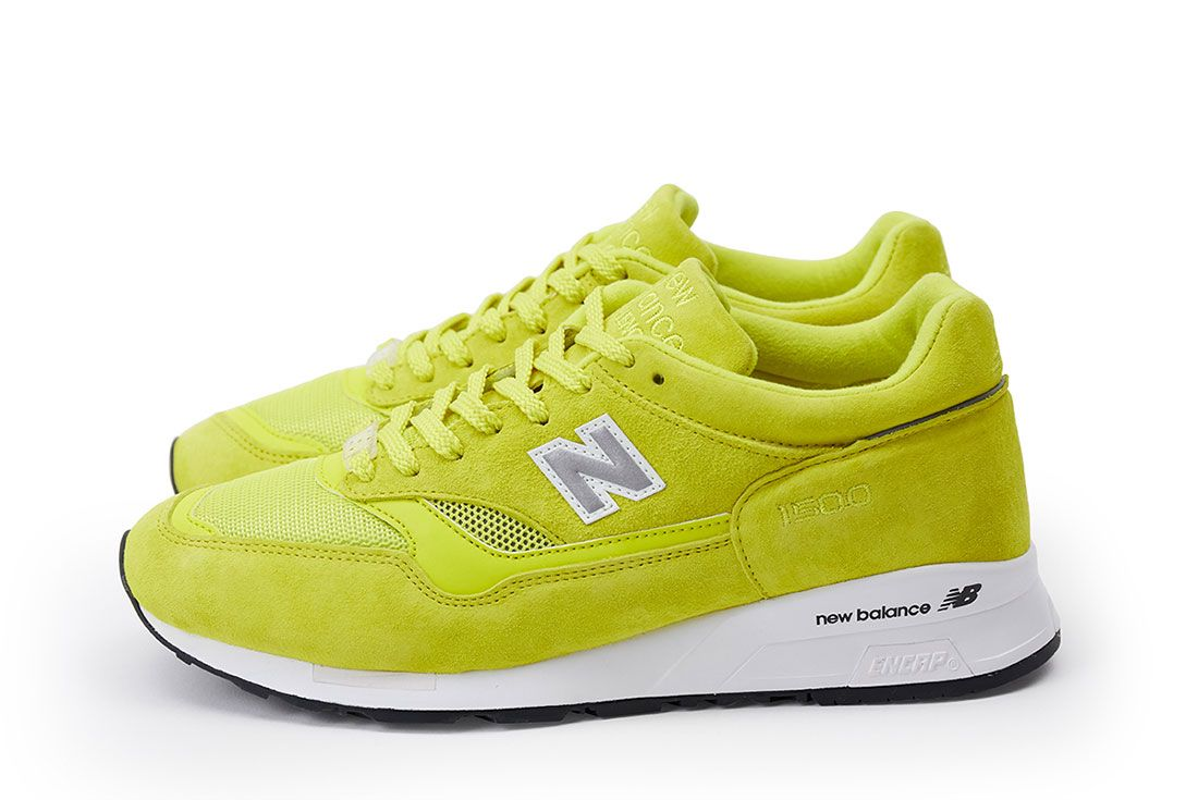 Pop New Balance 1500 Electric Yellow Pair Side 2