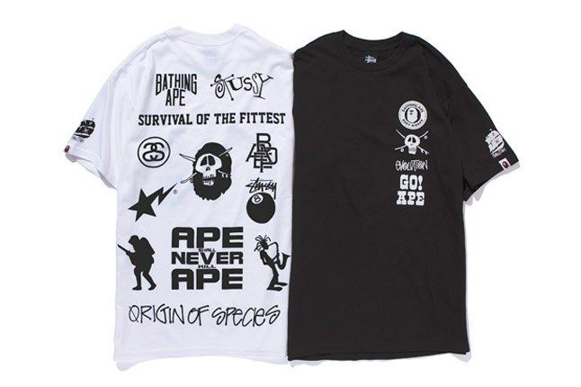 A Bathing Ape X Stussy 2010 Holiday Collection 11A 1