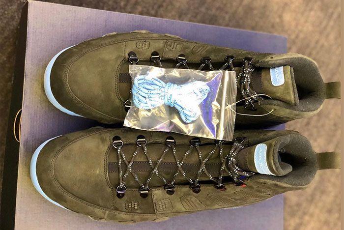 Air Jordan 9 Boot Unc Tar Heels Pe 2