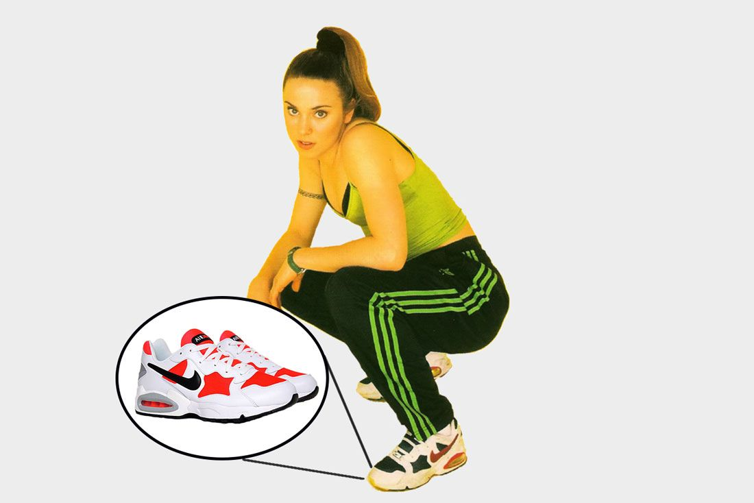 Spice Girls Mel C Air Max Triax 94