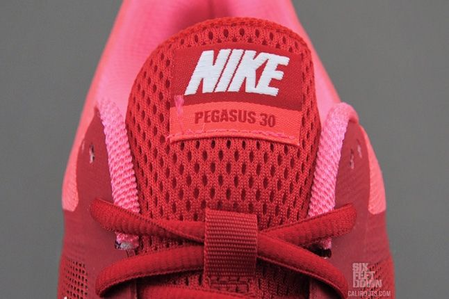 Nike Air Pegasus30 Navy Red Tongue Detail 1