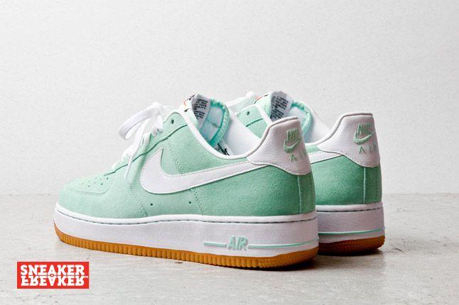 Nike Air Force 1 Low Suede Teal 2 1