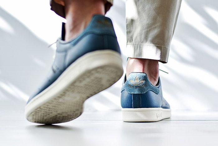 Adidas Stan Smith Horween Indigo Blue 2
