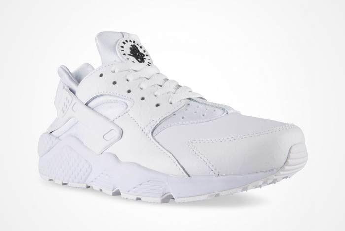 Nike Air Huarache Triple White 5
