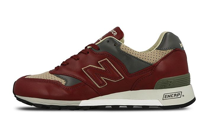New Balance 577 Made In England Burgundy 7