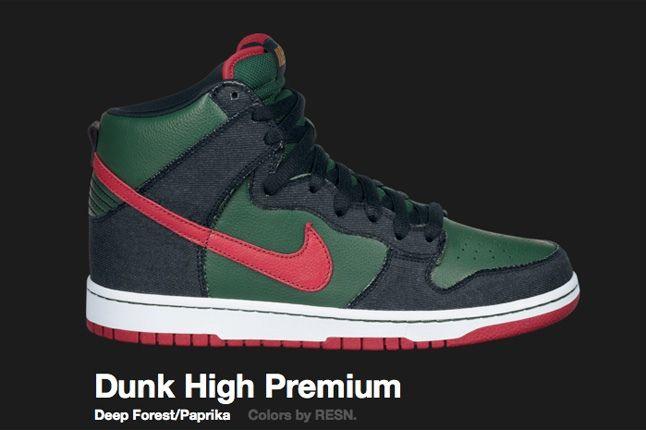 Nike Deep Forest Dunk High Sb 2009 1