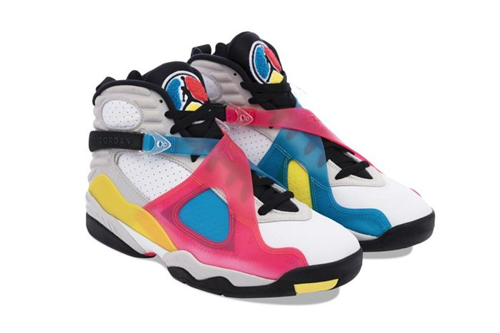 Air Jordan 8 Sp Se Multi Color Bq7666 100 Release Date Pair