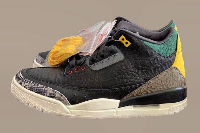 Air Jordan 3 Animal Instinct Ck4344 001 Release Date Leak