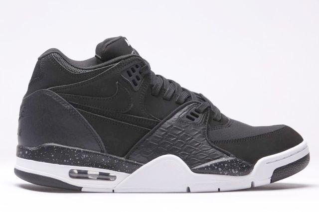 Afew Store Sneaker Nike Air Flight 89 Black White Coolgrey 12