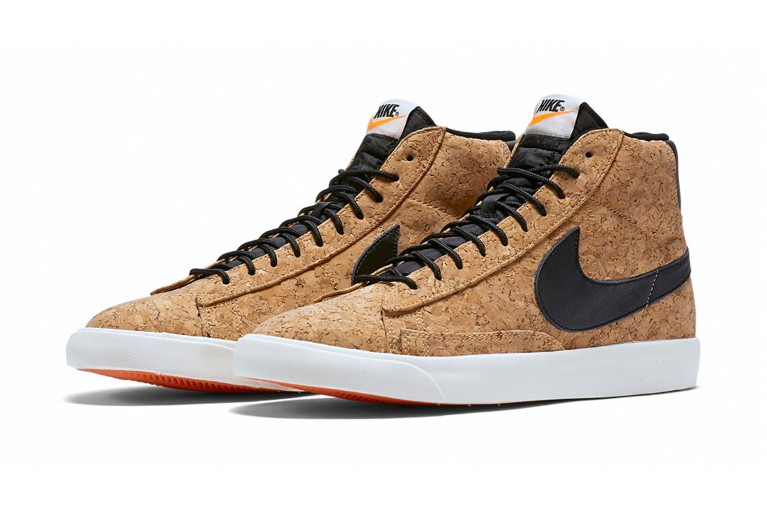 Nike Blazer Mid Cork Material Matters Feature