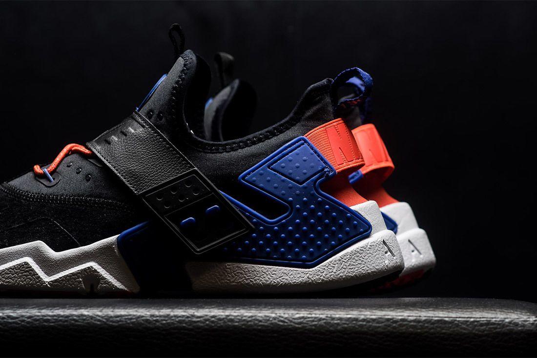 Nike Air Huarache Drift Premium Black Rush Violet Rush Orange Ah7335 002 Sneaker Freaker 10
