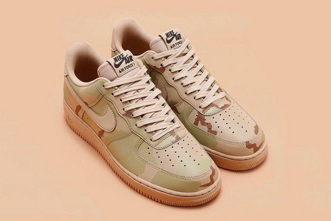 Nike Air Force 1 Camo Reflective 2