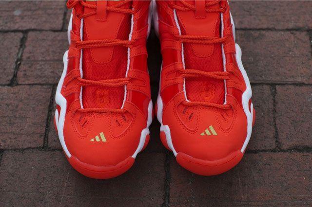 Adidas Crazy 8 Bright Orange Toebox