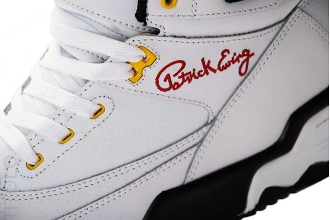 Patrick Ewing 33 Hi Jamaica Midfoot Detail 1