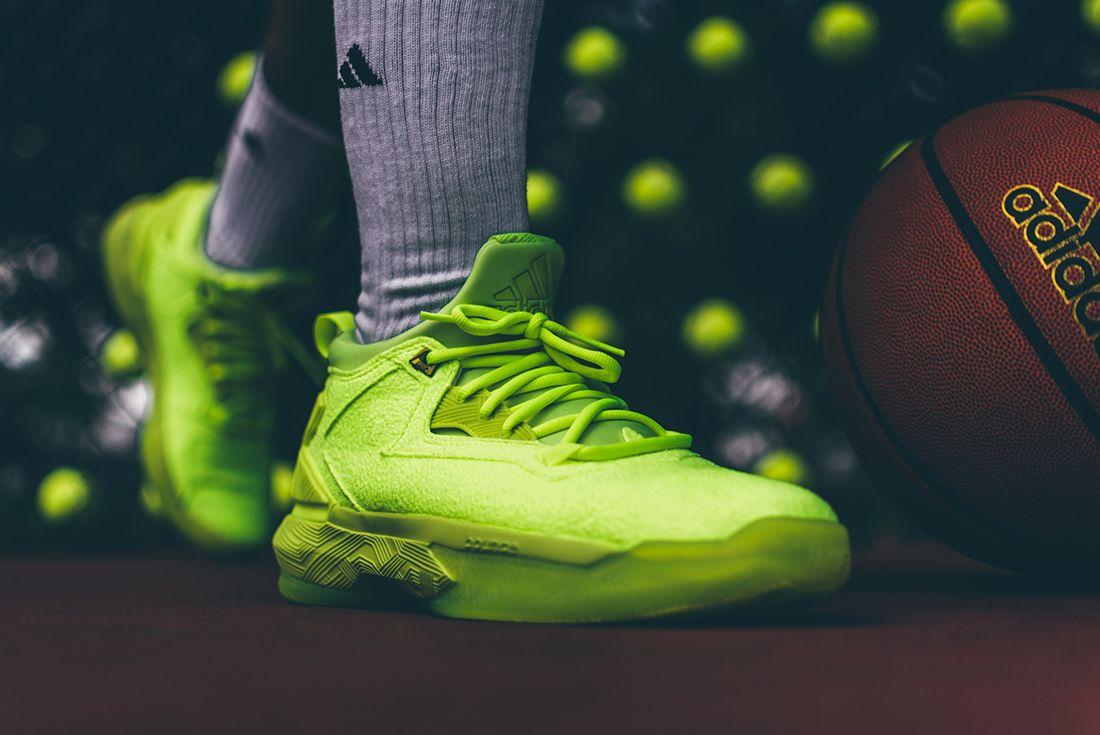Adidas D Lillard 2 Tennis Ball2
