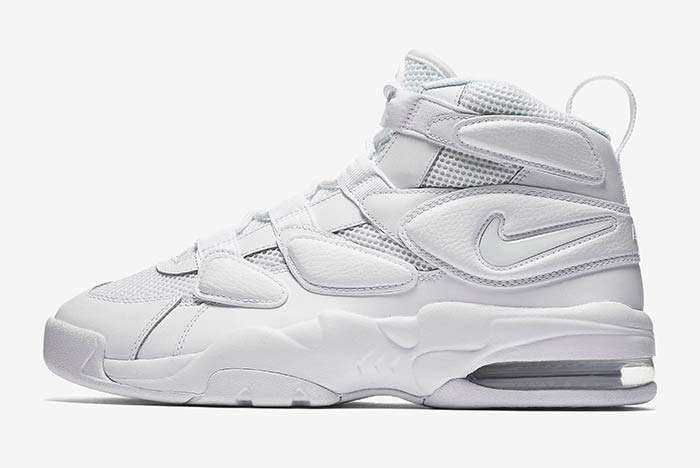 Nike Air Max 2 Uptempo Triple White 3