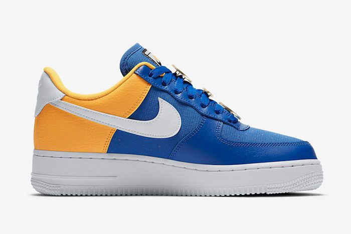 Nike Air Force 1 Low Warriors Aa0287 401 Release Date 2 Side
