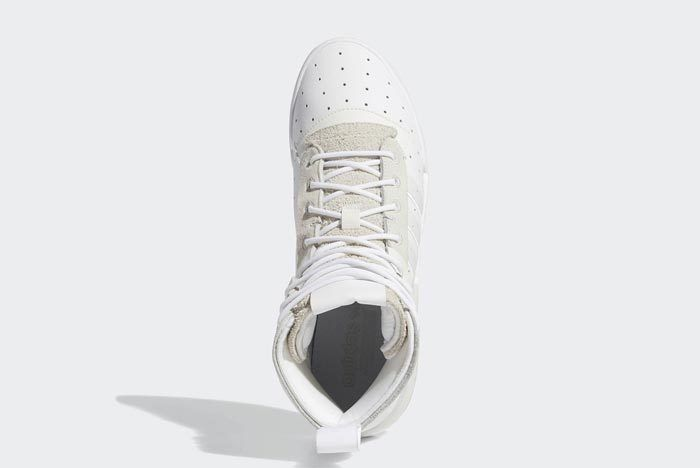 Adidas Rivalry Hi Boost White 5