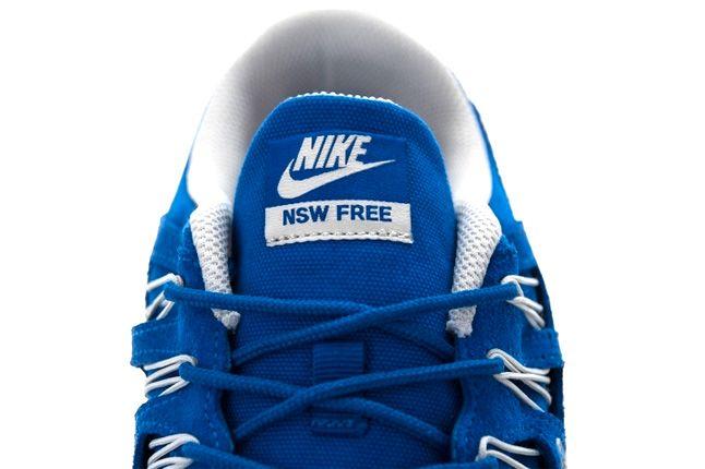 Nike Free 5 Ext Hyper Blue Tongue 1