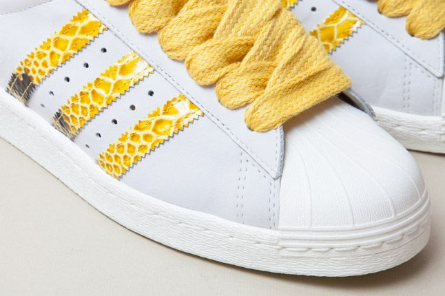 Adidas Consortium Shelltoe Snake Yellow 5 1