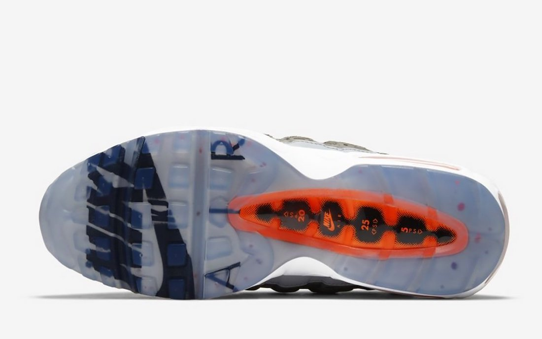 Kim Jones Nike Air Max 95 Dior Orange