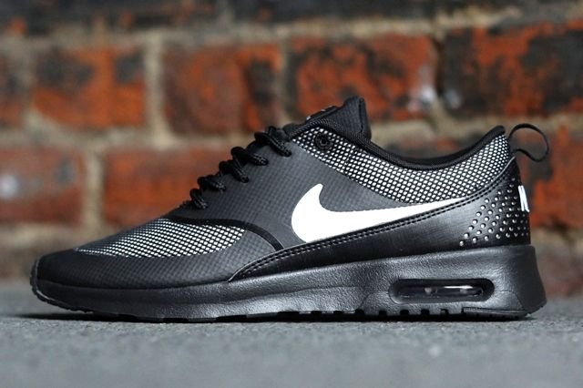 Nike Air Max Thea Black White 2