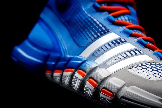 Adidas Crazyquick Blue Silver Orange Right Quarter 1