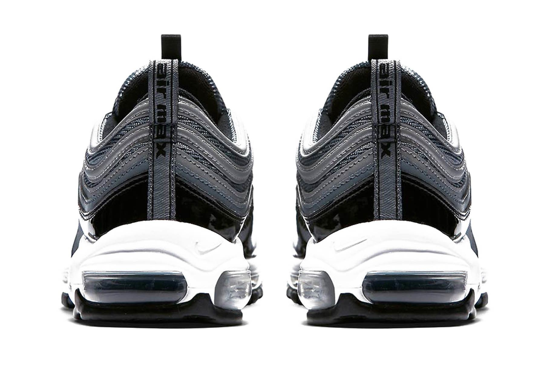 Nike Air Max 97 Black Patent Leather Release 003 Sneaker Freaker