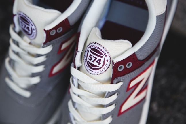 New Balance 574 Rugby Pack Grey Angle 1