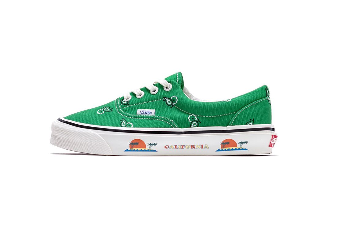 Vans OG Era LX Paisley Green Left