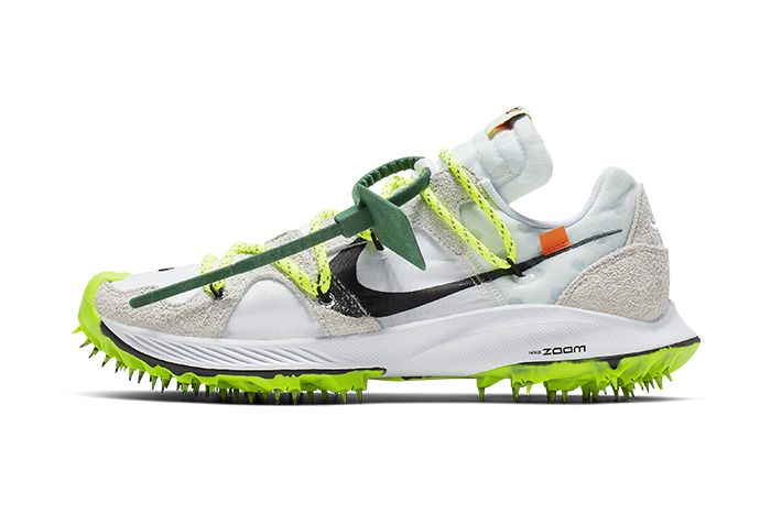 Off White Nike Zoom Terra Kiger 5 White Cd8179 100 Release Date Lateral