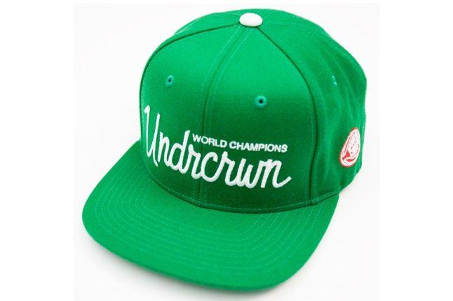 Undrcrwn X Starter Script Club Snapback Hats 5 1