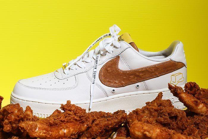 Bespoke X Butter Nike Air Fried 1 1