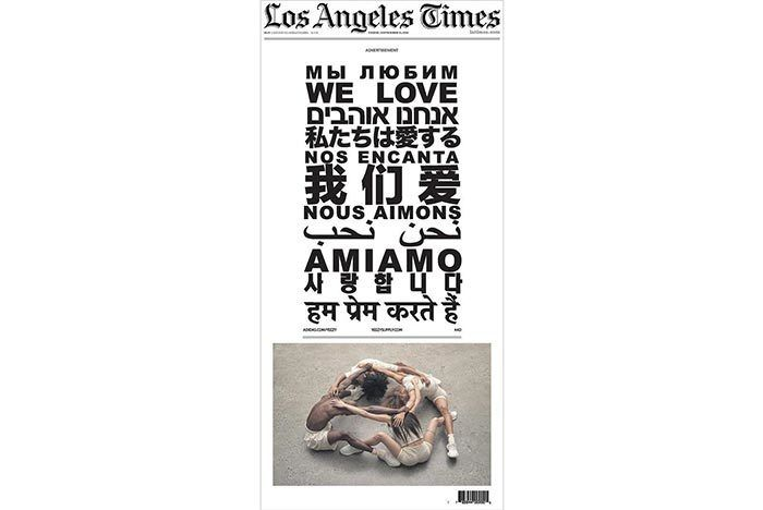 Kanye Yeezy Newspaper Ads 8