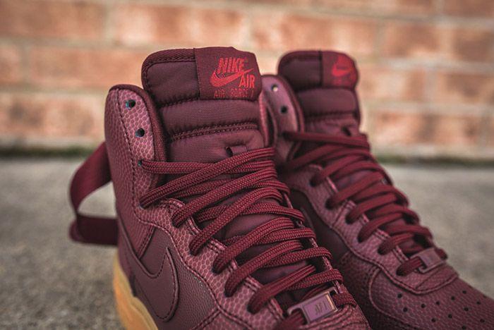Nike Air Force 1 High Night Maroon Womens 6