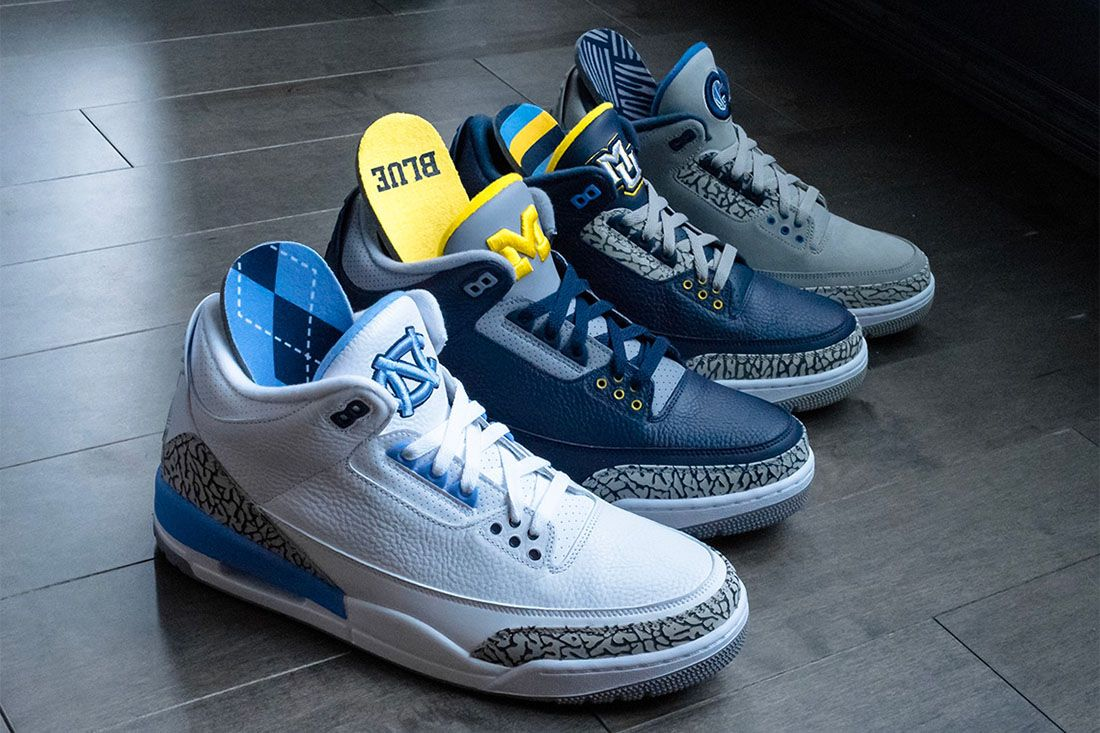 College Pes Air Jordan 3 Best Feature